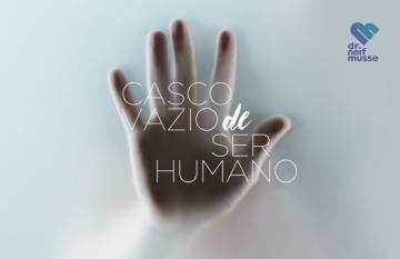 Casco vazio de ser humano